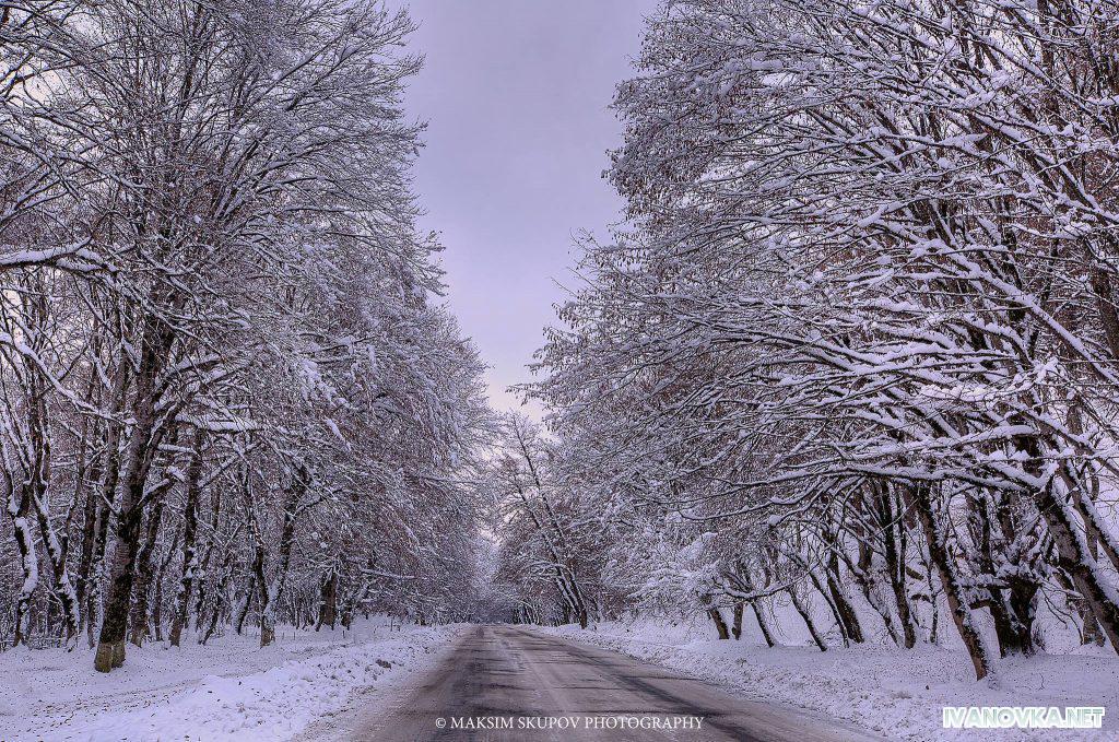 зима в азербайджане